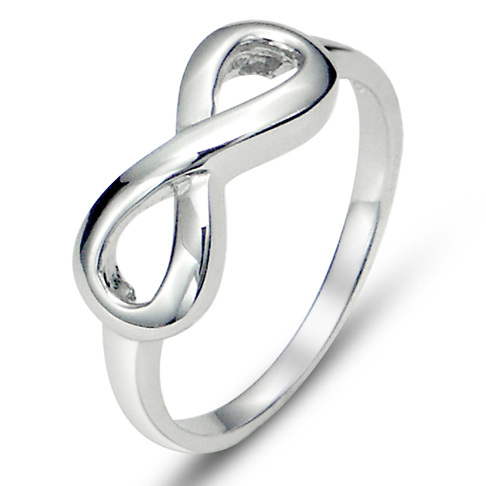 Sterling Silver Infinity Symbol Wedding Ring